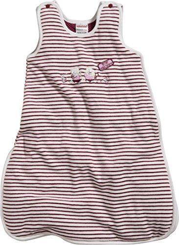 Schnizler Baby-Mädchen Nicki Ringel Top Secret wattiert Schlafsack, Rot (Bordeaux 9), 62 (Herstellergröße: 62/68)