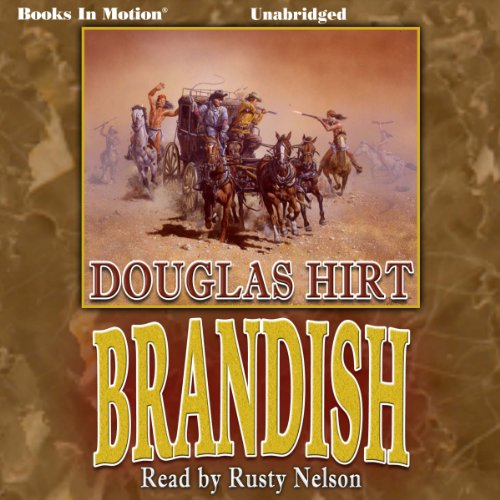 Brandish audiobook cover art