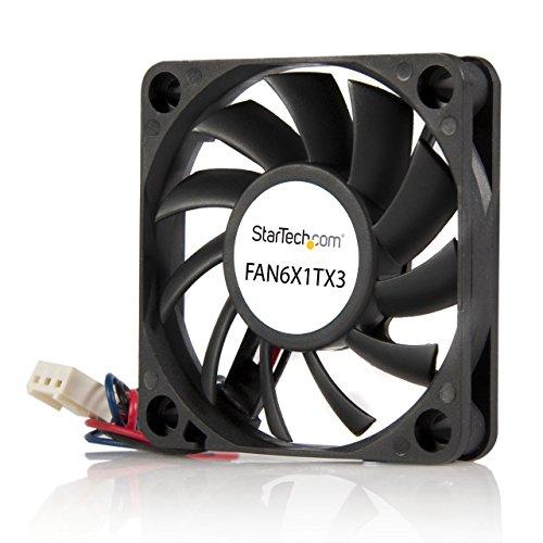 60x10mm Replacement Ball Bearing Computer Case Fan w/ TX3 Connector - 3 pin case Fan - TX3 Fan - 60mm Fan