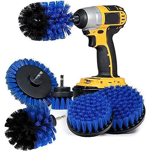 Cepillo de limpieza, kit de limpieza, 5 unidades, juego de brochas, kit de limpieza de taladro, cepillo de limpieza