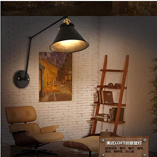 Wandlamp met lange mouwen verstelbare wandlamp wandlamp van metaal cafe-arm 30 cm_and_15 cm