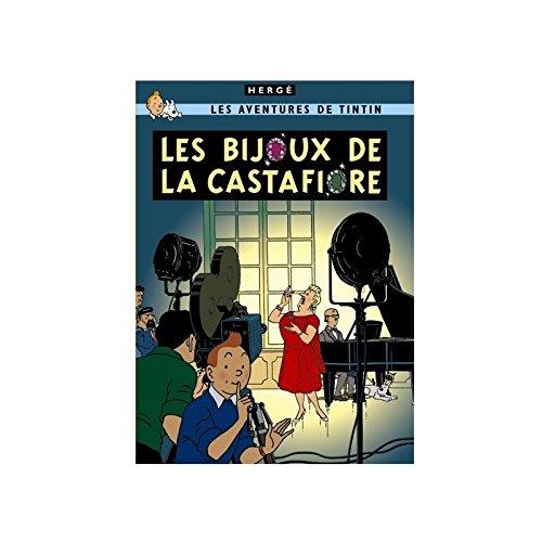 Moulinsart Póster álbum de Tintín: Las Joyas de la Castafiore 22200 (50x70cm)