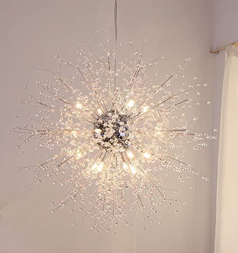 Lámparas De Cristal Moderna Lámpara Techo Led Antigua