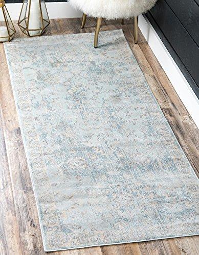 light blue carpet runner - 3