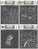 Craftreat Texture II ステンシルテーマ CTS294n295n296n308