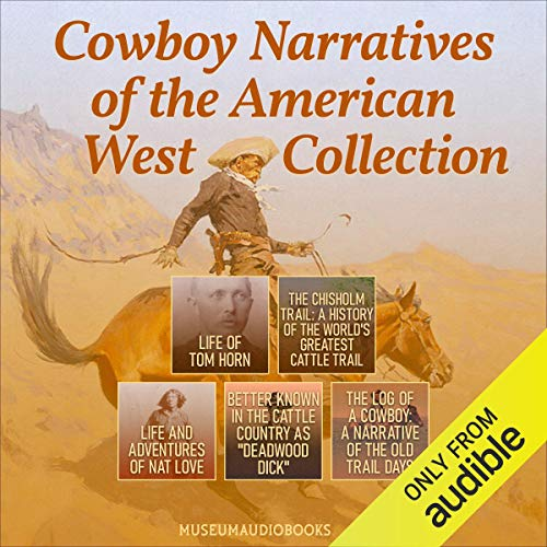 Cowboy Narratives of the American West Collection cover art
