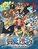 One Piece 2022 Calendar: Anime/Manga 18 Months, from Jul 2021 to Dec 2022 with 8.5x11 inches size High Quality