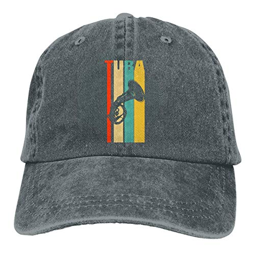 Voxpkrs Trucker Cap Tuba Durable Baseball Cap Hats Adjustable Dad Hat Black Comfortable23270