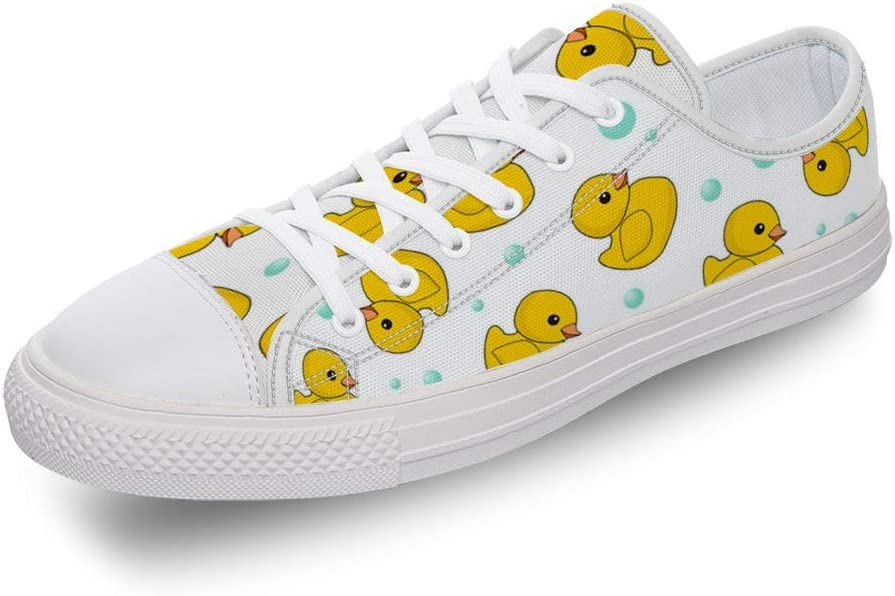 Sneakers, Canvas, Lace-Up Shoes, Yellow