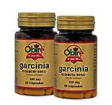 Obire | Garcinia Cambogia 300 mg | Extracto Seco 60 Cápsulas (Pack 2 Unid.)
