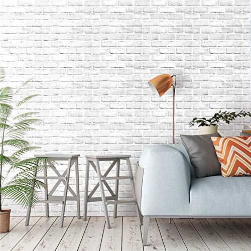 Los paneles de pared 3D Wall Stickers Murales HaoHome blanco / gris...