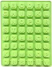 JUNGEN Molde de Letras de Hielo Bandeja de Hielo de plastico Bandeja de Hielo Rectangular 48 Molde de Cubitos de Hielo del Cuadrados para Whisky Cóctel Cafe Color al Azar