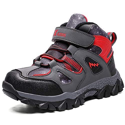 Niño Zapatos de Botas de Invierno para Niños Zapatos Botas de Senderismo...