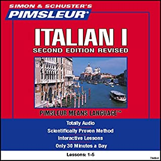 Italian I, Second Revised Edition audiobook cover art
