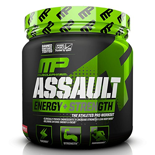 MUSCLE PHARM MH Assault Sport Strawberry Ice, 345 g