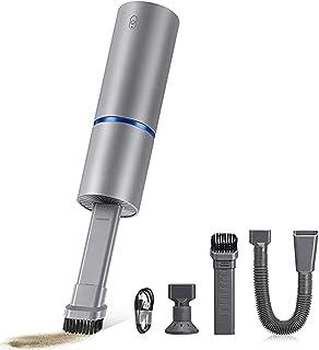 ZHAOHGJ Worth Having - Aspirateur à Main, Mini sans Fil de Poche à Vide, USB Rechargeable, Facile à Nettoyer Bureau, Clavi...