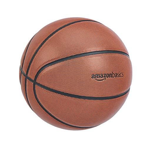 Amazon Basics - Balón de baloncesto hecho de compuesto de microfibra, talla oficial