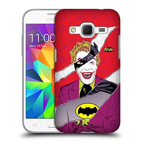 Head Case Designs Ufficiale Batman TV Series Joker Grafiche Cover Dura per Parte Posteriore Compatibile con Samsung Galaxy Core Prime