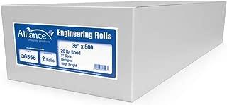 "Alliance Paper Rolls, Bond Engineering, 36"" x 500' x 3"