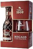 Terry Brandy 1900 Solera + Regalo Vaso, 36% - 700 ml