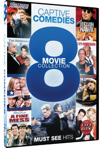 Captive Comedies: 8 Movie Collection (Hollywood Homicide/Hudson Hawk/The Freshman/Cops and Robbersons/Lone Star State of Mind/Excess Baggage/A Fine Mess/Life Without Dick)