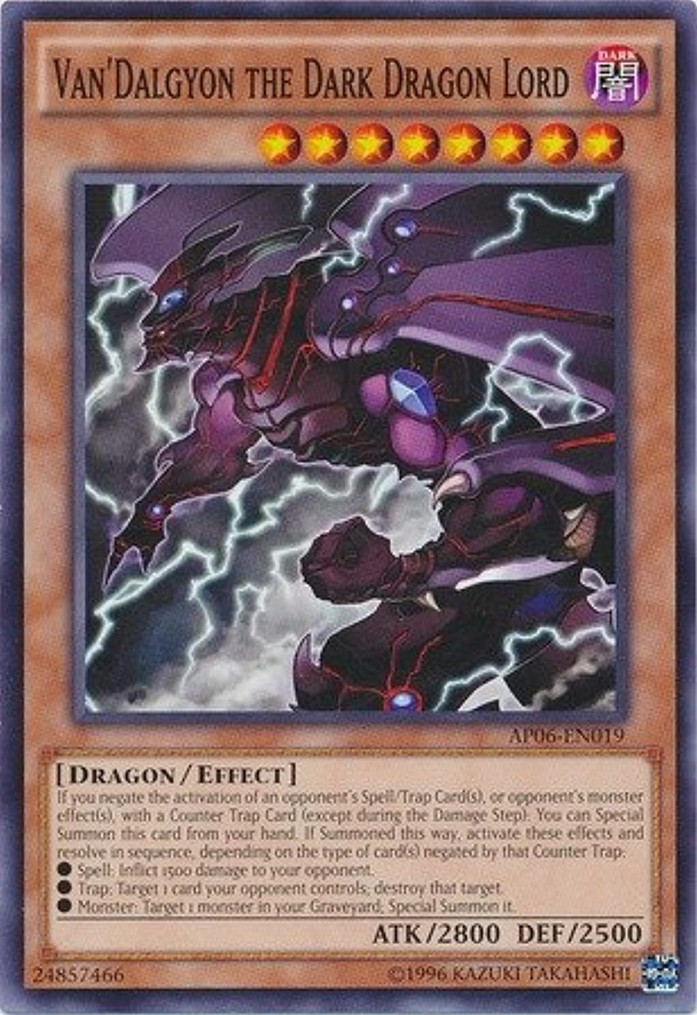 Yu-Gi-Oh! Van39;Dalgyon the Dark Dragon Lord (AP06-EN019) - Astral Pack: Booster Six - Unlimited Edition - Common