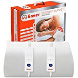 Wärmer Electric Blanket Double Size - Dual Control, Fully Fitted Mattress Cover