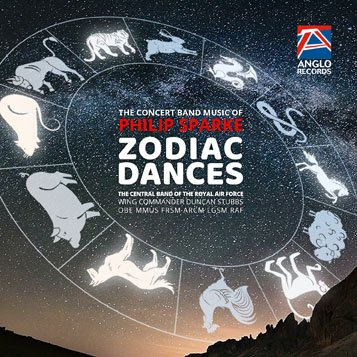 Philip Sparke-Zodiac Dances-Concert Band/Harmonie-CD