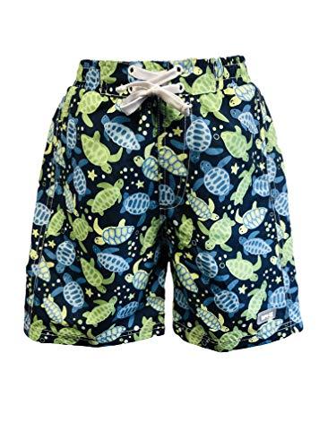Banz Shorts-S19bst8 Shorts, Tortue Bleue, Large Bébé garçon