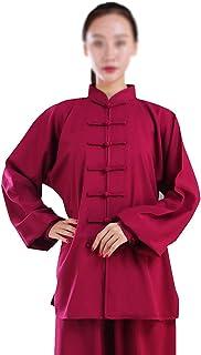 FMOGQ Bawełna len stretch taichi mundur kobieta chińskie sztuki walki garnitur Kung Fu ubrania Zen medytacja skrzydło chun...