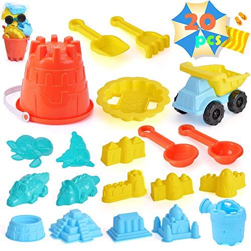 unanscre 20Pcs Beach Sand Toys...