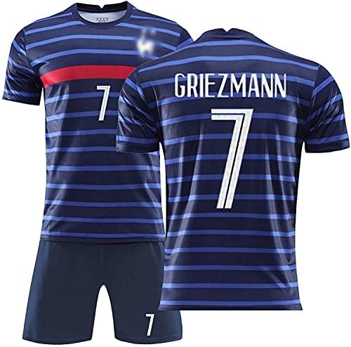 2019/2020 Torwarttrikot Frankreich 2 Star Home Team Trikot für Kinder und Erwachsene Gr. M, B