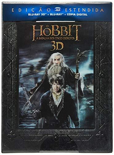 Warner Home Video O Hobbit - A Batalha Dos Cinco Exércitos - Edição Estendida - 5 Discos - Blu-Ray 3D