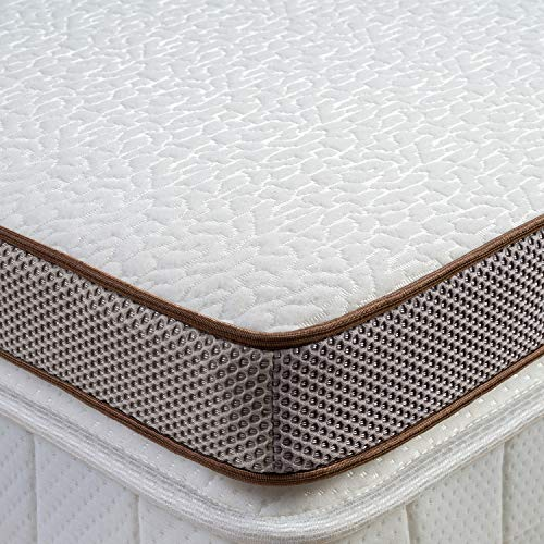 (33% OFF Deal) 3-Inch Cooling Gel Memory Foam Mattress Topper $92.20