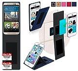 Hülle für HTC One M9s Tasche Cover Hülle Bumper   Blau   Testsieger