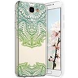 Robinsoni Cover per Samsung Galaxy J5 Prime Cover Silicone Galaxy J5 Prime Case Trasparent...