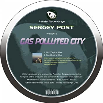 Gas Polluted City