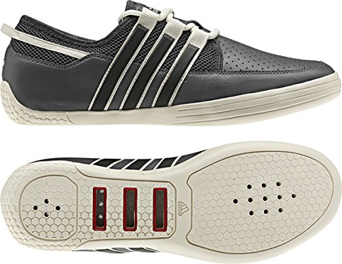 adidas sailing Adidas Sailing Tactician TN01 Herren Deckschuh (grau/weiß, Größe 40)