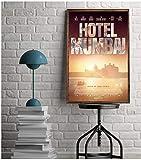 JLFDHR Leinwand Wandkunst 40x60cm kein Rahmen Hotel Mumbai