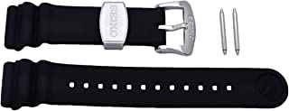 Seiko 22mm Black Resin Diver Strap for Series SRP773/775/777/779