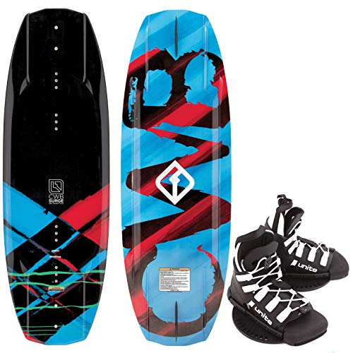 CWB Surge Kinder Wakeboard 125cm Junior Wakeboard-Set Bindung Black