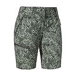Schöffel Shorts Toblach2 AOP Pantalones Cortos para Mujer, Verde ágave, 40