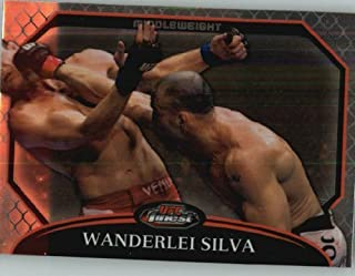 2011 Topps Finest UFC - Ultimate Fighting Championship #26 Wanderlei Silva - Mixed Martial Arts (MMA) Trading Card