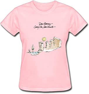Refined Dave Barnes Carry on San Vicente Women's Cotton Short Sleeve T-Shirt