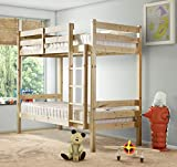 STRICTLY BEDS & BUNKS - Everest Classic Bunk Bed (Short) - 2ft 6 Single (5ft 9 Length)
