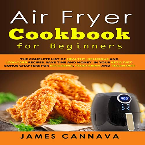 Air Fryer Cookbook for Beginners audiobook cover art