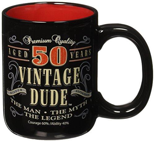 50th Vintage Coffee Mug