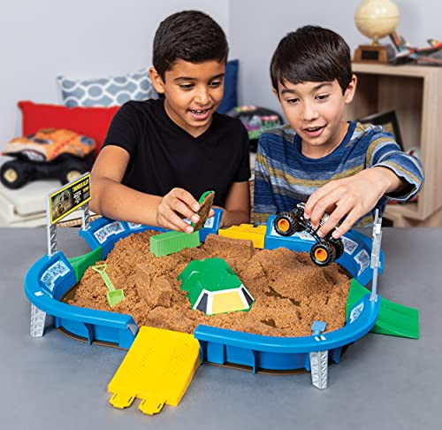 The Monster Jam Dirt Arena is one of the best toys for 4-year-old boys