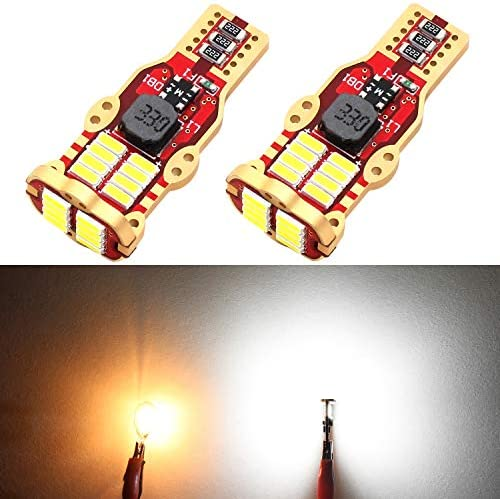 Phinlion 912 921 LED Reverse Backup Light Bulbs RV High Power 4014 24 SMD Chipsets W16W T15 product image
