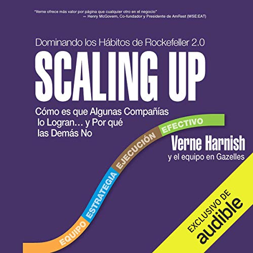 Scaling Up (Spanish Edition) Audiobook By Verne Harnish cover art
